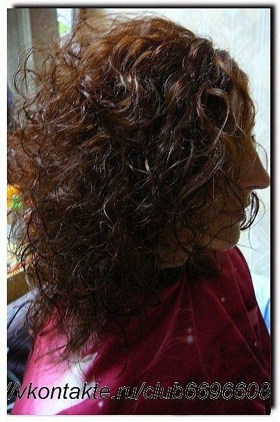 Химическая завивка волос, как это делать ?
