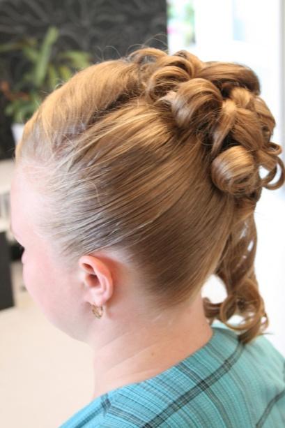 Свадебная прическа, прическа на длинные волосы