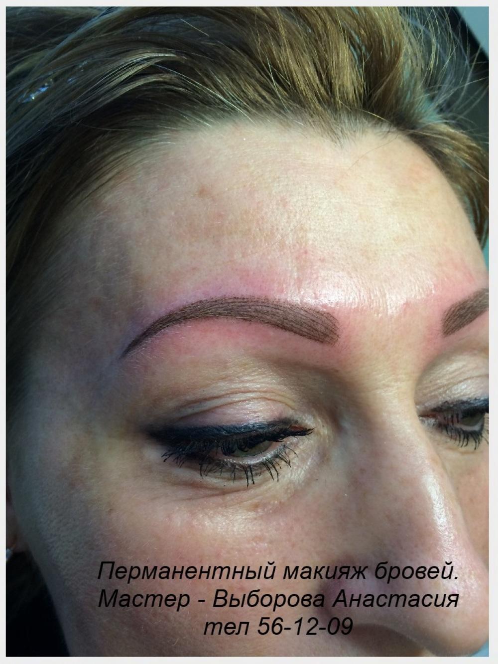 Татуаж бровей, как сделать перманентный макияж бровей